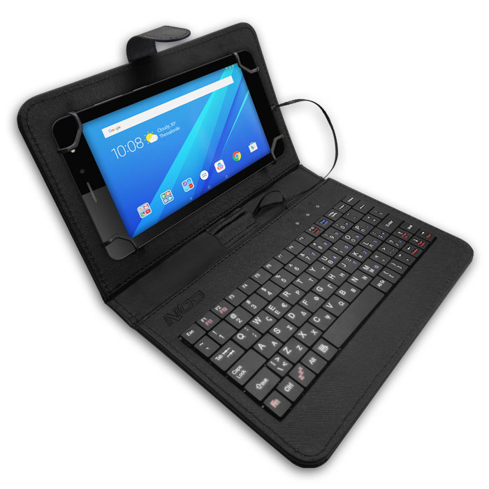 NOD TCK-07 Tablet case with keyboard for 7'' tablet (Universal θήκη προστασίας και μεταφοράς,...)