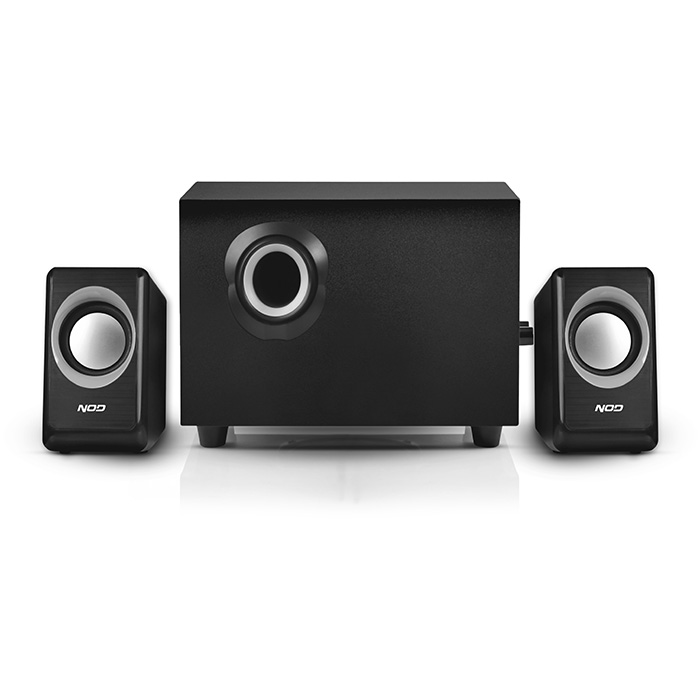 NOD Cyclops SPK-020 Speaker 2.1 2x3W & 5W,black (Στερεοφωνικά ηχεία 21, 2 x 3W & 1 x 5W)