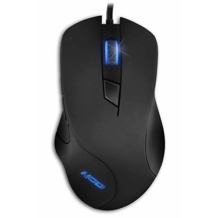 "NOD Alpha Mike Foxtrot Wired Gaming Mouse, RGB LED / G-MSE-6 (Ενσύρματο gaming ποντίκι, με μαύρη ""rubb...)"
