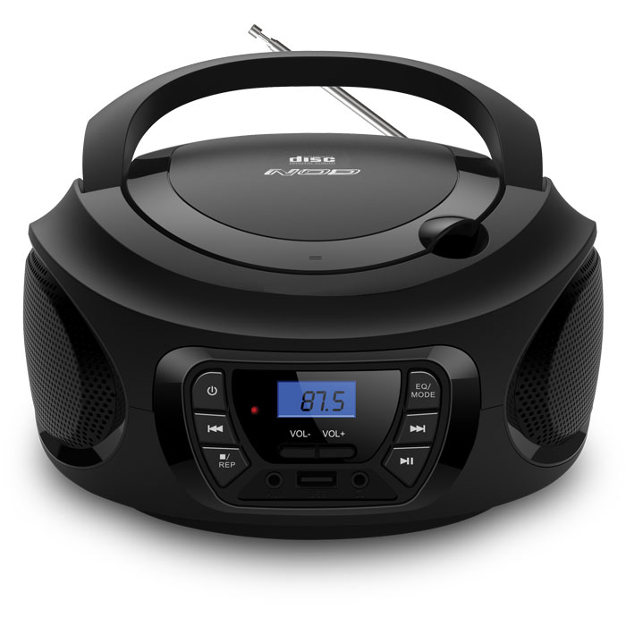 NOD INTRO RADIO CD PLAYER (Φορητό ραδιόφωνο με CD / USB / MP3 / AUX...)