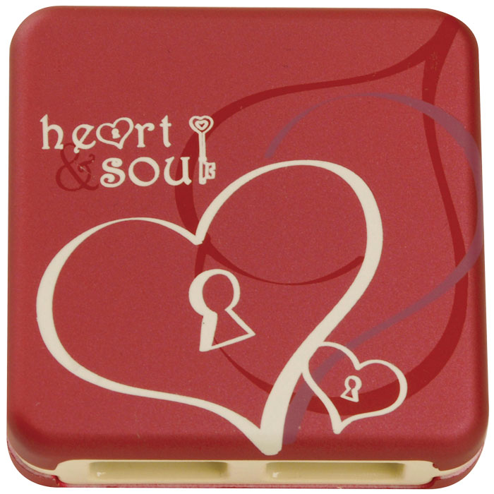 GUE-55S (HEART&SOUL) USB 2.0 HUB (USB 20 Hub Enchanted Heart & Soul)