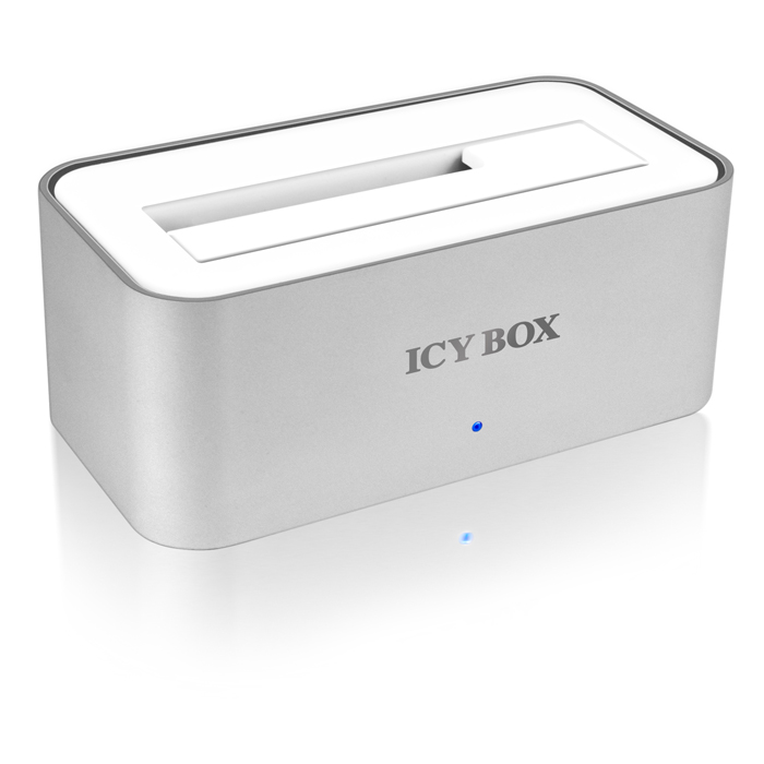 "ICY BOX IB-111StU3-Wh DOCK 2.5""&3.5"" SATA HDD USB3.0                     /20705 (Docking Station αλουμινίου για σκληρούς ...)"