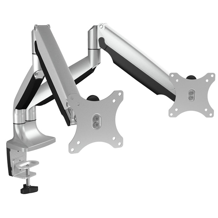 "ICY BOX IB-MS504-T Monitor stand with table support for two monitors up to 32"" / (Επιτραπέζια πλήρως μεταλλική βάση στήριξ...)"