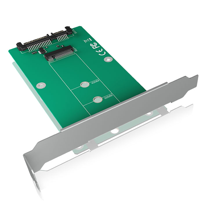 ICY BOX IB-CVB516 M.2 SATA to SATA converter card (Mετατροπέας M2 SATA SSD σε SATA)