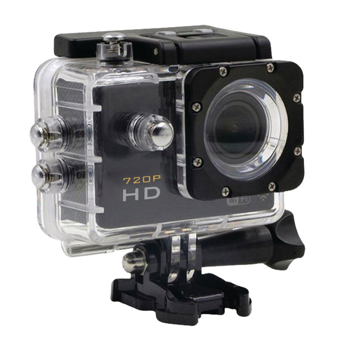 "CAMLINK CL-AC11 HD Action Camera 720p Black (Action κάμερα HD 720p με οθόνη TFT 2"")"