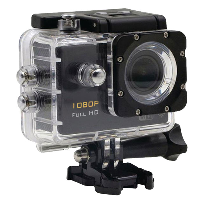 CAMLINK CL-AC21 Full HD Action Camera 1080p Wi-Fi Black (Action κάμερα Full HD 1080p Wi-Fi, με οθ...)