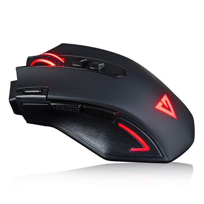 MODECOM MC-GMX3 VOLCANO WIRED GAMING MOUSE BLACK (Ενσύρματο οπτικό ποντίκι gaming Volcano ...)