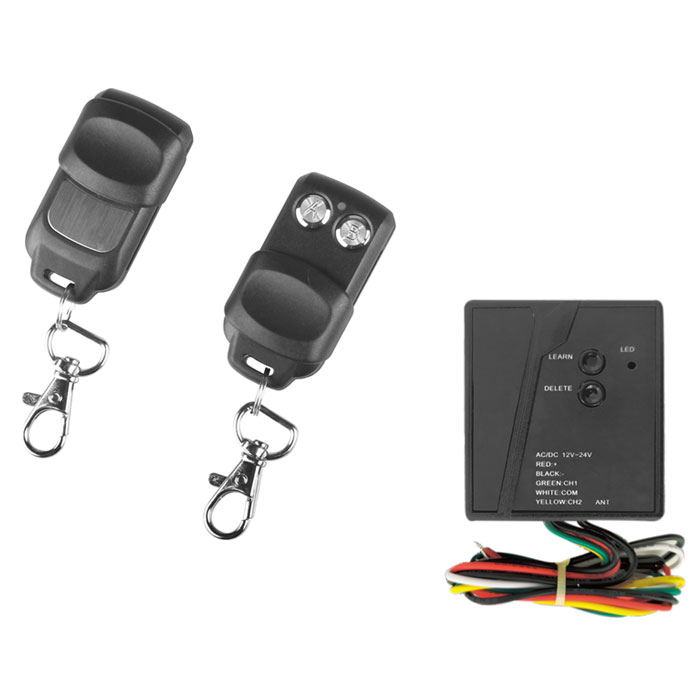 SUPERIOR INDOOR KIT RECEIVER WITH 2 REMOTE 433,92MHz (Indoor Κit ασύρματου τηλεχειρισμού με re...)