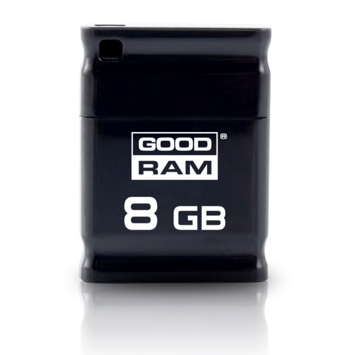 GRAM USB STICK 8GB PICCOLO BLACK / UPI2-0080K0R11 (Μικρού μεγέθους USB 20 stick 8GB)
