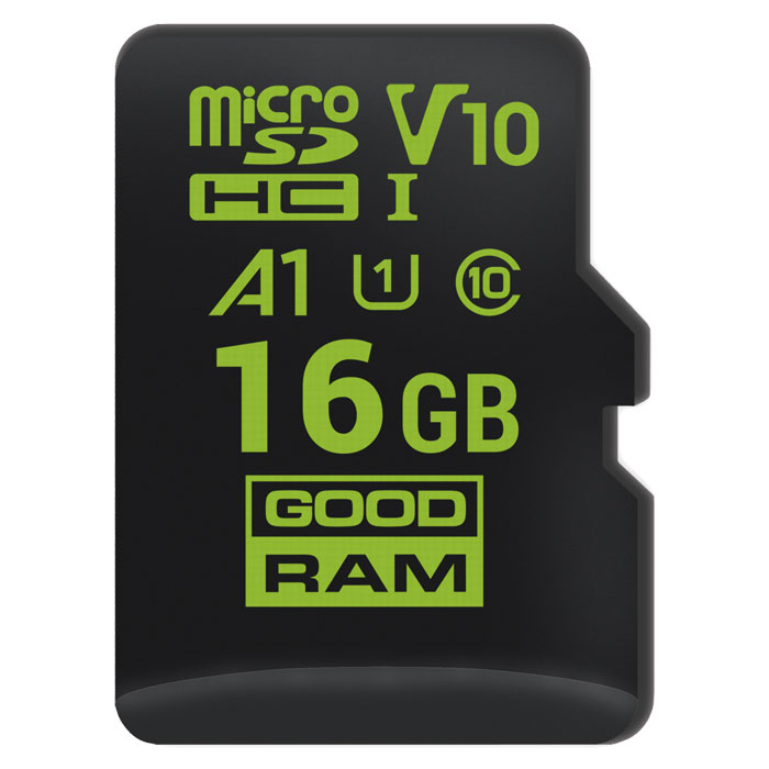 GRAM MICROSD 16GB FOR ANDROID M1A0 A1 CLASS 10 UHS-I V10 / M1A0-0160R11-A1 (Κάρτα μνήμης microSDHC 16GB για Android,...)
