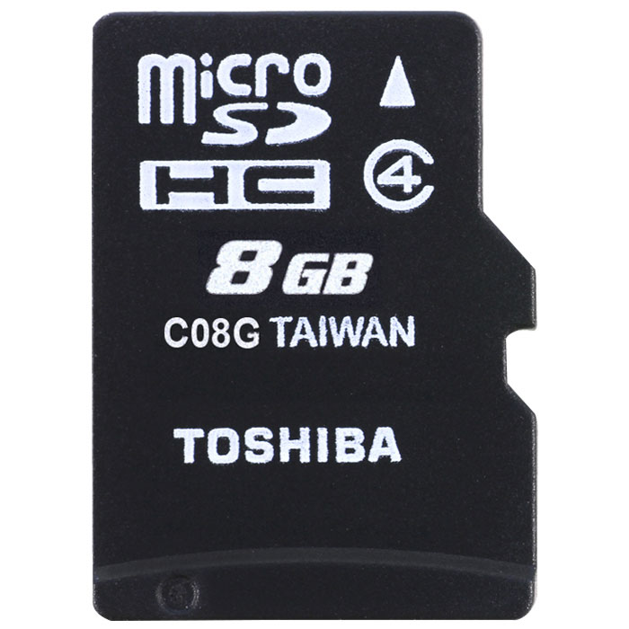 TOS MICROSD 8GB M102 CLASS 4 WITH ADAPTER/ THN-M102K0080M2 (Κάρτα μνήμης microSDHC 8GB, class 4, με ...)