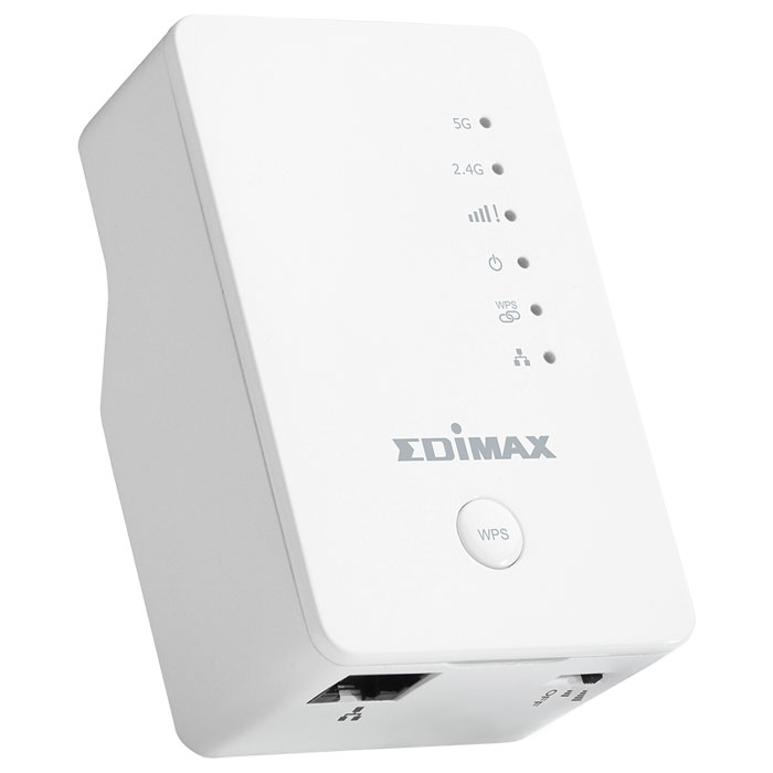 EDIMAX EW-7438AC AC750 DUAL BAND WI-FI EXTENDER 1 PORT WALLPLUG (AC750 Dual-Band, 3 σε 1, Wi-Fi Extender ...)