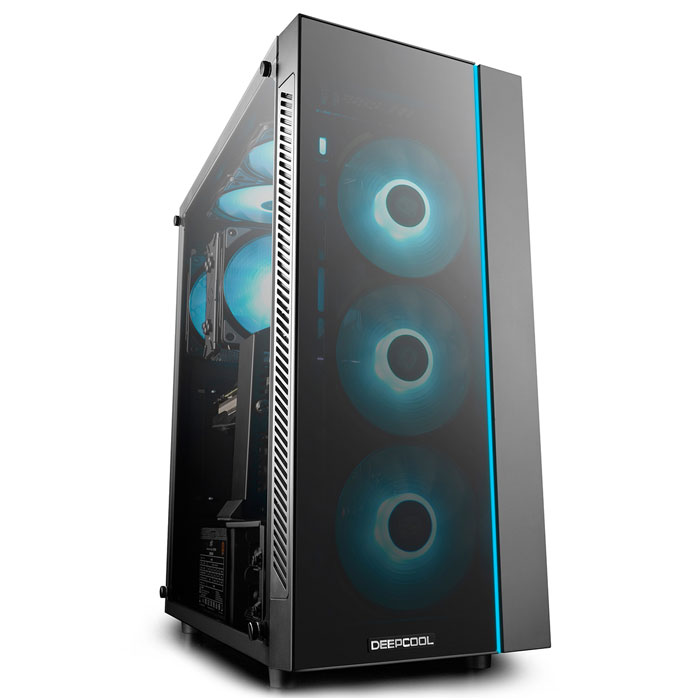DEEPCOOL MATREXX 55 COMPUTER CASE BLACK (Κουτί DEEPCOOL MATREXX 55, για μητρικές ...)