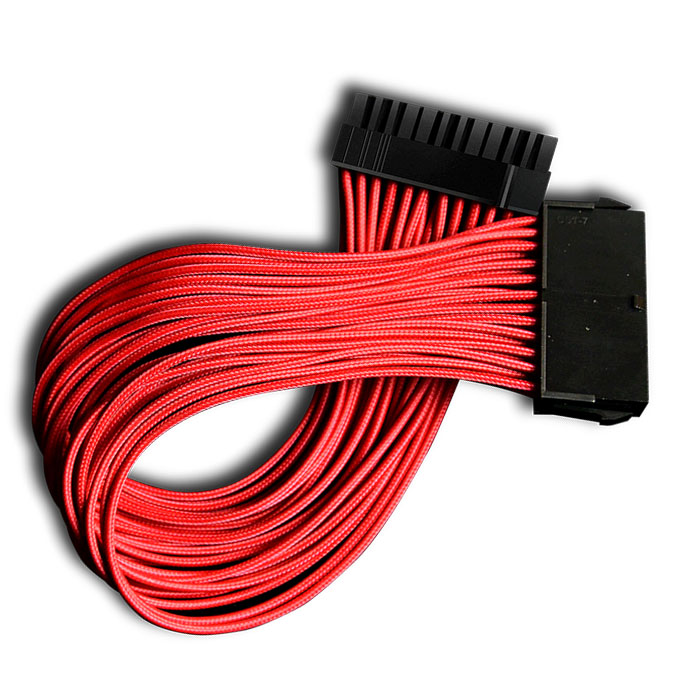 DEEPCOOL EC300-24P-RD MOTHERBOARD EXTENSION CABLE RED (Braided καλώδιο προέκτασης τροφοδοσίας m...)
