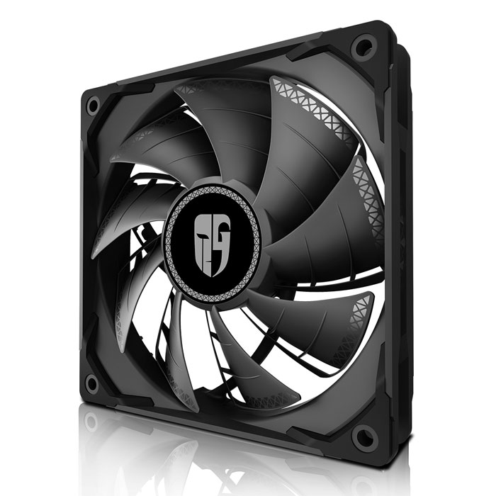 DEEPCOOL TF120S BLACK TURBO COOLING FAN 120MM (Ανεμιστήρας TF120S 120mm)