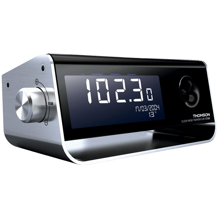 THOMSON CT350 RADIO ALARM CLOCK WITH TEMPERATURE (Ρολόι )