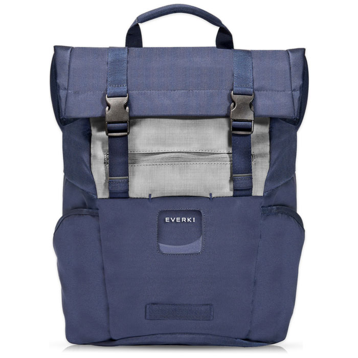 "EVERKI CONTEMPRO 72588 NAVY ROLLTOP LAPTOP BACKPACK UP TO 15.6"" (ΕVERKI Roll Top Backpack για laptop έως ...)"