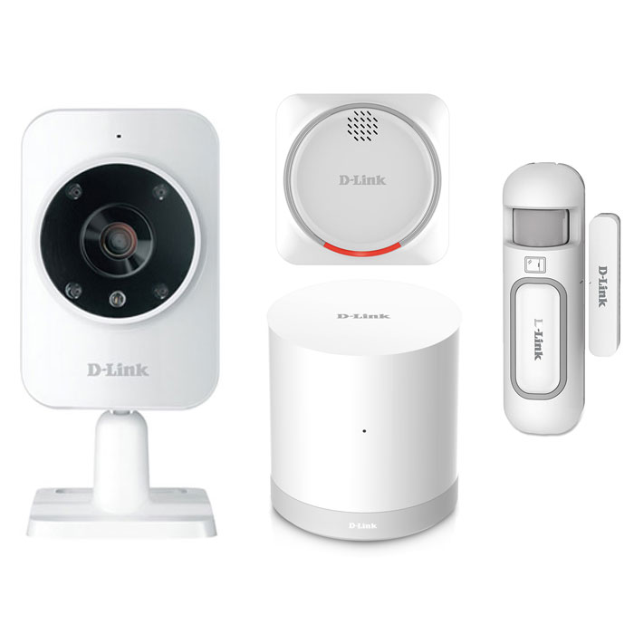 MYDLINK HOME DCH-107KT SECURITY STARTER KIT (Z-WAVE+WIFI) (Smart Home Security Starter kit)