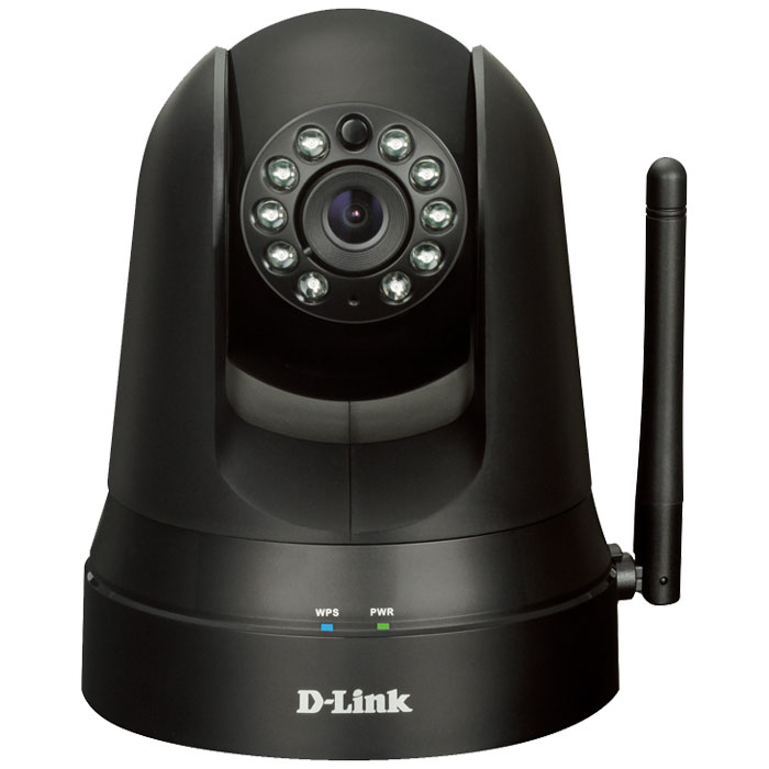 MYDLINK HOME DCS-5010L WIRELESS N DAY/NIGHT PAN/TILT CAMERA (Smart Home wireless monitor 360)