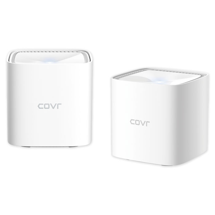 D-LINK COVR-1102 AC1200 Dual Band Whole Home Mesh Wi-Fi System (2-Pack) (AC1200 Dual Band Whole Home Mesh Wi-Fi S...)