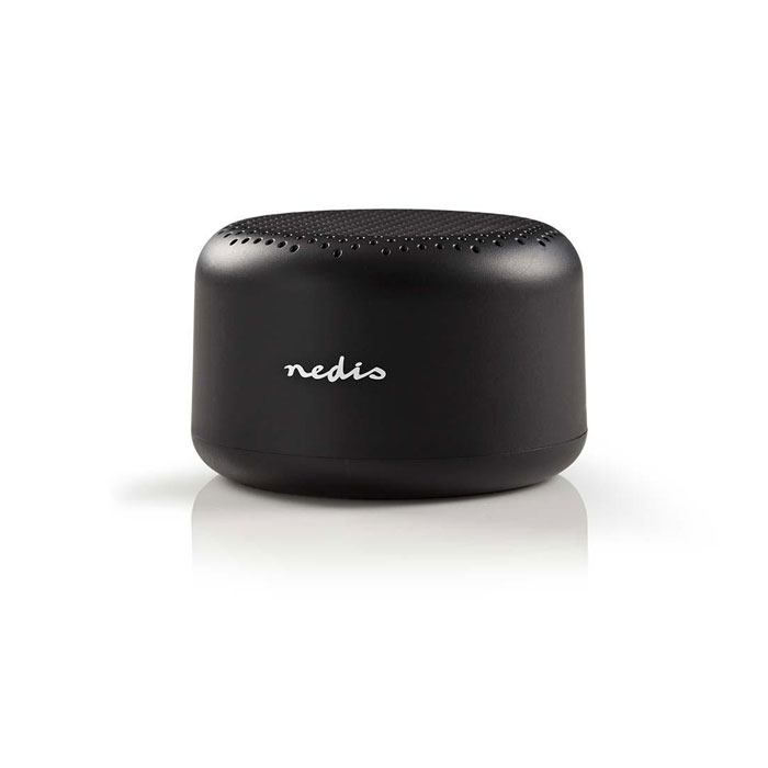 NEDIS SPBTAV01BK Bluetooth Speaker, Black (Φορητό ηχείο Bluetooth, 3W, μαύρο)