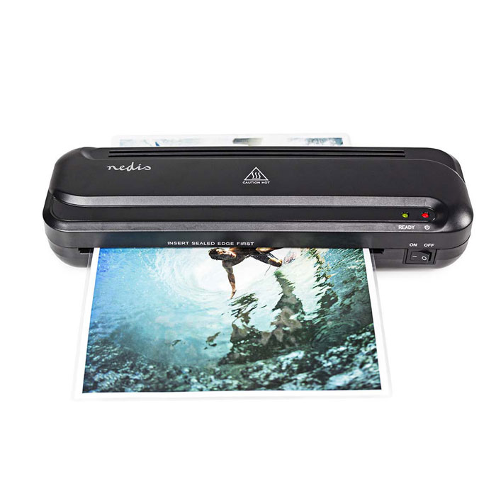 NEDIS LAMI110BKA4 Laminating Machine, Hot, A4 Size, 230 mm/min (Πλαστικοποιητής A4, 230 mm/min)
