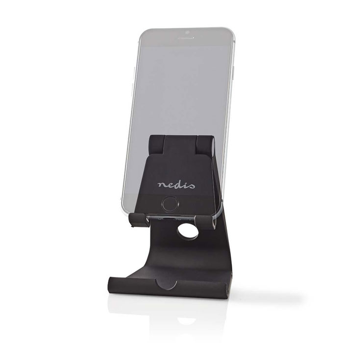 NEDIS SDSD100BK Smartphone/Tablet Stand Adjustable Black (Βάση στήριξης για Smartphone και Tablet,...)