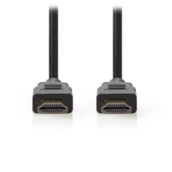 NEDIS CVGT34001BK10 High Speed HDMI Cable with Ethernet HDMI Connector-HDMI Conn (Καλώδιο HDMI αρσ)