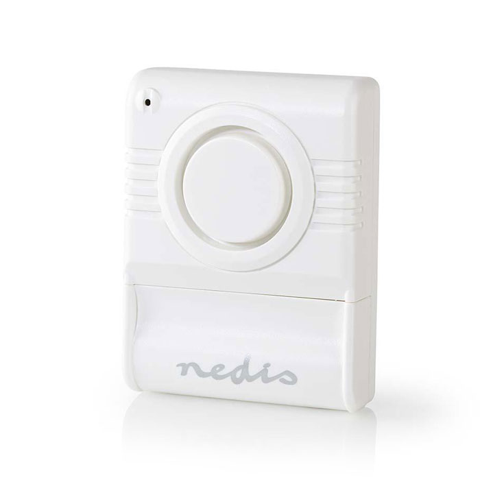 NEDIS ALRMGB10WT Glass Break Alarm Built-in Siren Adjustable Sensitivity (Μini αυτόνομος αισθητήρας δόνησης με συν...)