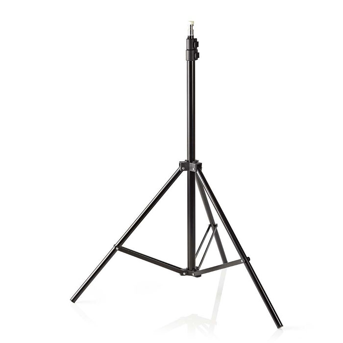 NEDIS SLST10BK Photo Studio Light Stand 200 cm Spigot (Universal βάση στήριξης για προβολέα φωτ...)