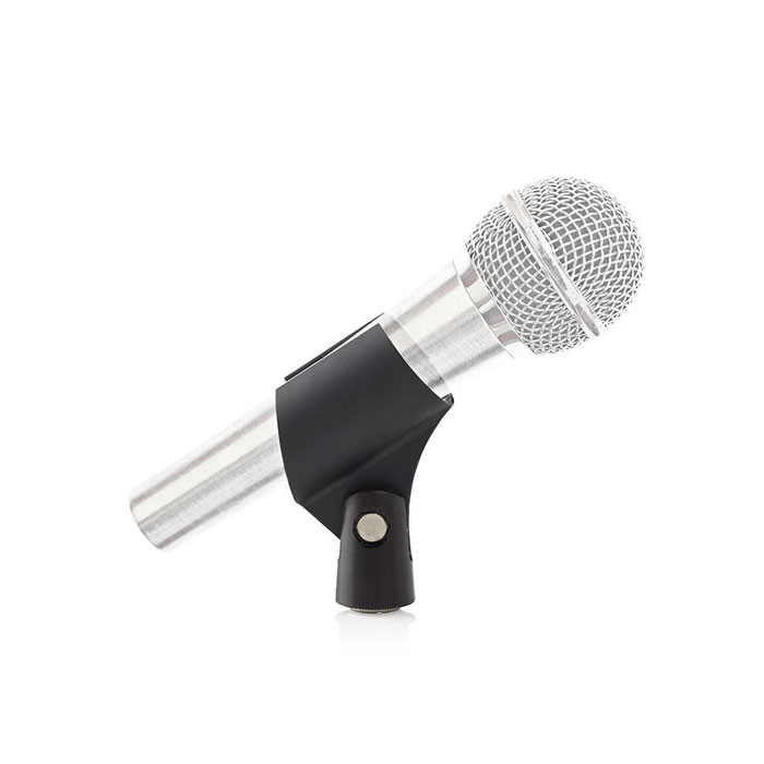 "NEDIS MPCL20BK Microphone Holder Universal 5/8"" and 3/8"" Screw Black (Βάση μικροφώνου με σύνδεση 5/8"" και 3/8"")"