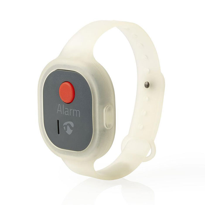 NEDIS ALRMPW20AT Personal Safety Alarm Waterproof Wrist Band Design = 85dB Alarm (Προσωπικός συναγερμός ασφαλείας, 85 dB)