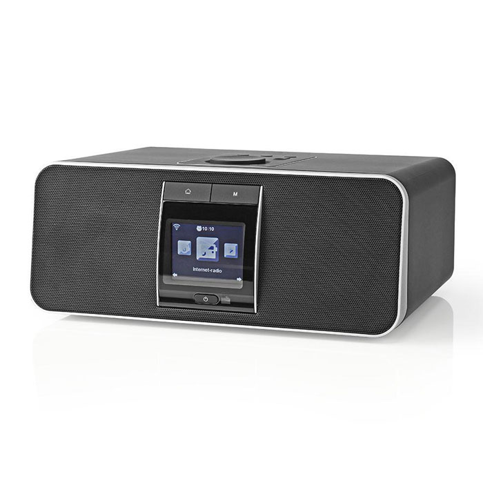 NEDIS RDIN5000BK Internet Radio 42 W DAB+ FM Bluetooth Black (Internet και FM ραδιόφωνο με λειτουργία ...)