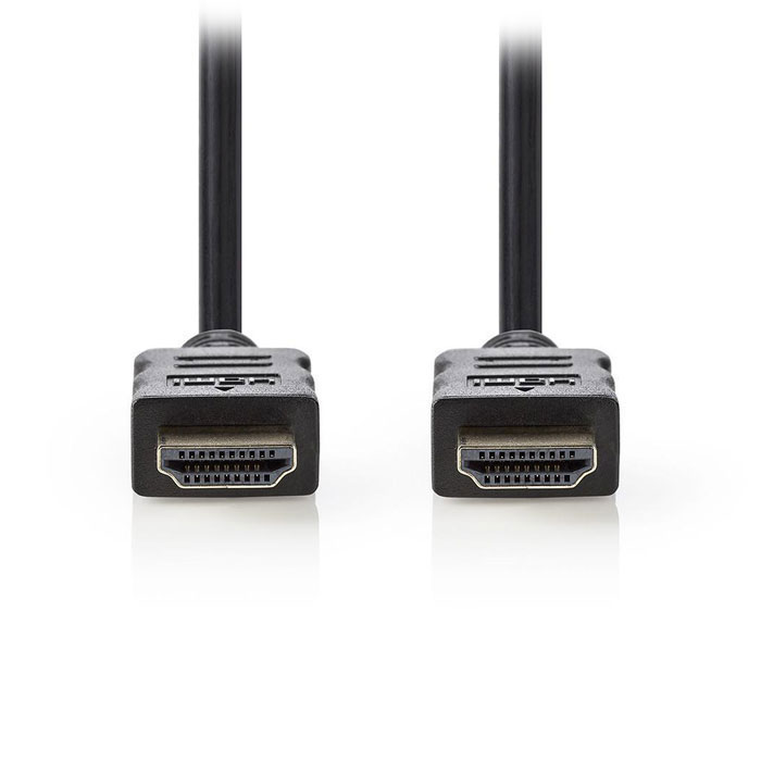 NEDIS CVGT34000BK250 High Speed HDMI Cable with Ethernet HDMI Connector-HDMI Con (Καλώδιο HDMI αρσ)