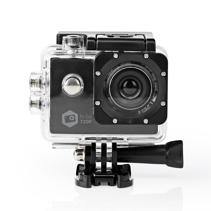 "NEDIS ACAM11BK Action Cam HD 720p Waterproof Case (Action κάμερα HD 720p, με οθόνη TFT 2"")"
