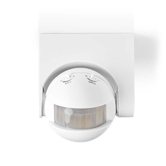 NEDIS PIROO20WT Motion Detector Outdoor Time and Ambient Light Settings 3-Wire I (Αισθητήρας κίνησης εξωτερικού χώρου με υ...)