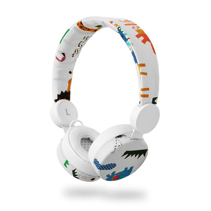 NEDIS HPWD4104WT Wired Headphones 1.2m Round Cable On-ear Elephant White (On-ear ενσύρματα ακουστικά NEDIS N-imal ...)