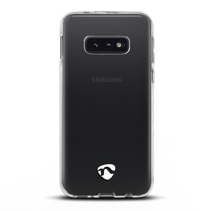 NEDIS SJC10019TP Jelly Case for Samsung Galaxy S10 E Transparent (Διάφανη θήκη σιλικόνης για το Samsung Ga...)