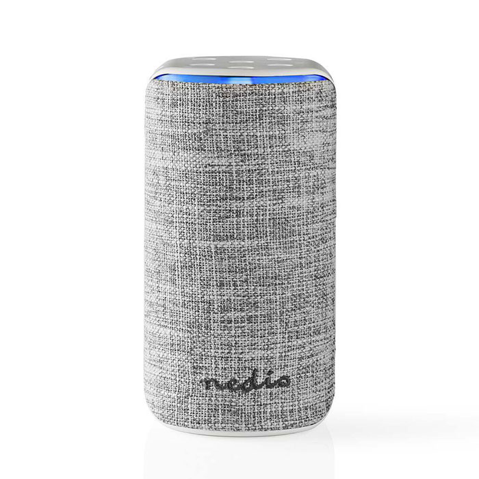 NEDIS SPVC7000WT Smart Wifi Speaker 15 W Amazon Alexa Far Field Voice Control Wh (Smart Wi-Fi ηχείο 15W, συμβατό με Amazon...)