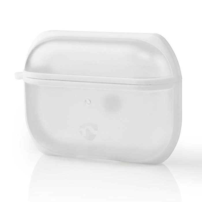NEDIS APPROCE100TPWT AirPods Pro Case Transparent / White (Προστατευτική θήκη για Apple Airpods Pro...)