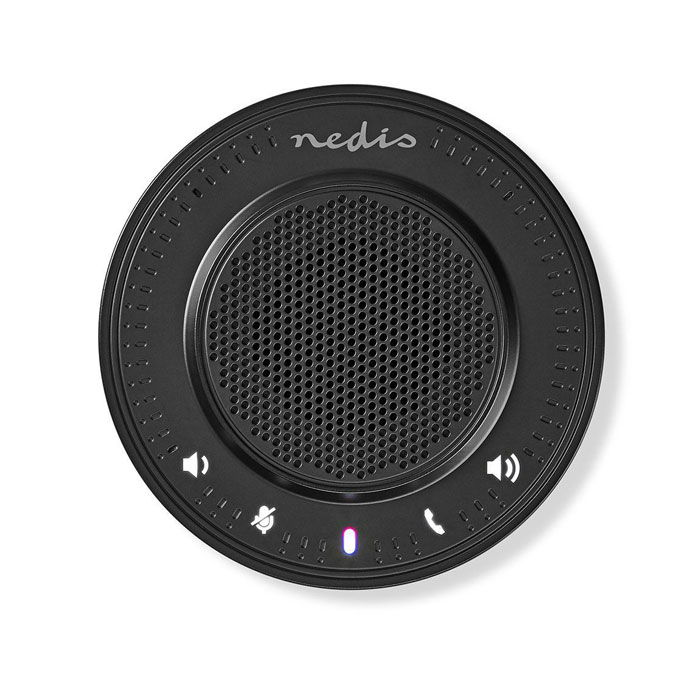 NEDIS CSPR10010BK Conference Speaker 2.5 W Touch Control USB-Powered Black (Ηχείο τηλεδιάσκεψης με ενσωματωμένο μικρ...)
