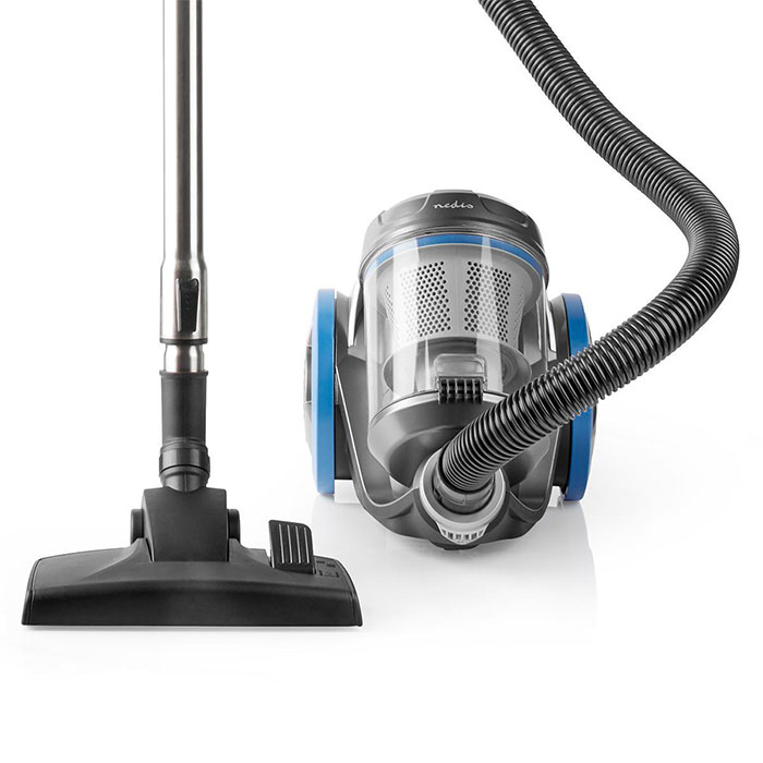 NEDIS VCBS550BU Vacuum Cleaner Bagless 700 W Parquet brush 3.5 L Dust Capacity B (Ηλεκτρική σκούπα χωρίς σακούλα, 700W, με...)