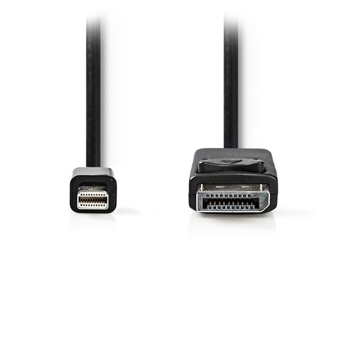 NEDIS CCGT37400BK20 Mini-DisplayPort - DisplayPort Cable Mini DisplayPort Male D (Καλώδιο MiniDisplayPort αρσ)