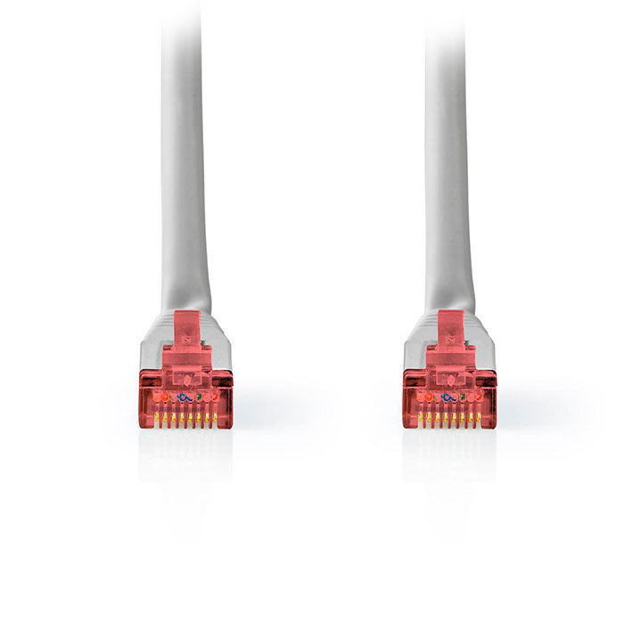 NEDIS CCGT85221GY50 Network Cable CAT6 S/FTP RJ45 Male RJ45 Male 5.0 m Grey (Καλώδιο δικτύου CAT 6, S/FTP patchcable,...)
