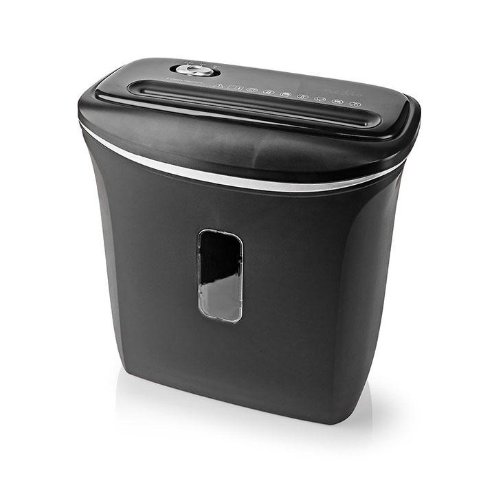 NEDIS PASH120BKA4 A4 Paper Shredder 12 Litre Capacity DIN-P4 Security (Καταστροφέας εγγράφων A4, 12L)