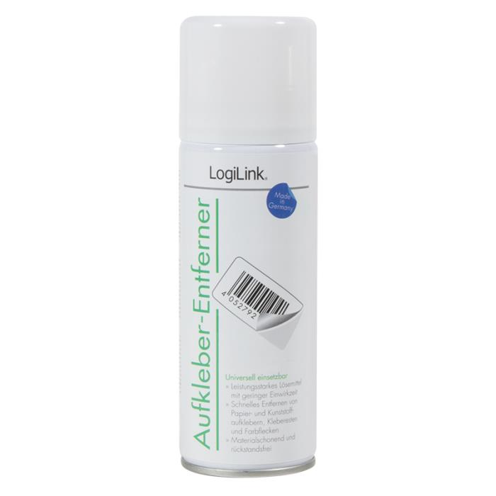 Label Remover Spray LogiLink RP0016 (4052792041002)
