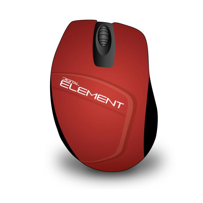 Mouse Wireless Element MS-165R
