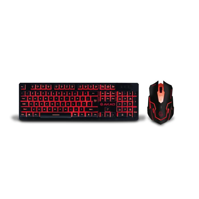 Keyboard & Mouse Zeroground KB-1600GUMS AKAO