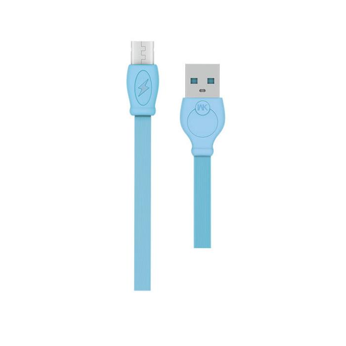 Charging Cable WK Micro Blue1m Fast WDC-023